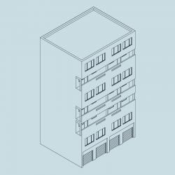 Area 3 - G Block 8 storeys